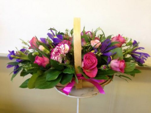 Fuchsia Wishes Arrangement